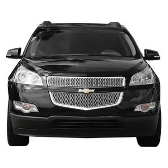 2010 Chevy Traverse Custom Grilles Billet Mesh Led
