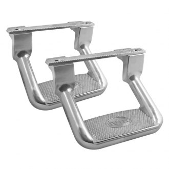 "Bully® - 10"" Silver Hoop Steps"