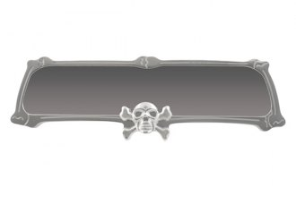 Bully® - Skull Design Billet Rear View Mirror