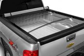 Bully® - Hidden Snap Tonneau Cover, Opened