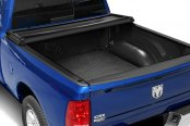 Bully® - Tri-Fold Soft Tonneau Cover, Opened