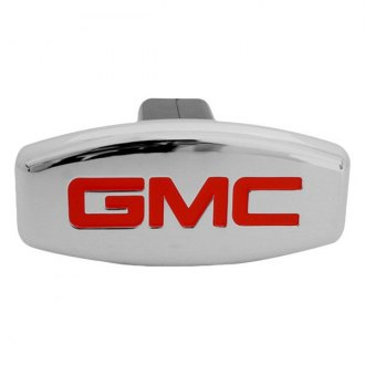 "Bully® - Chrome Hitch Cover with GMC Logo for 1-1/4"" and 2"" Receivers"