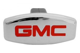 Bully® - Chrome Hitch Cover with GMC Logo