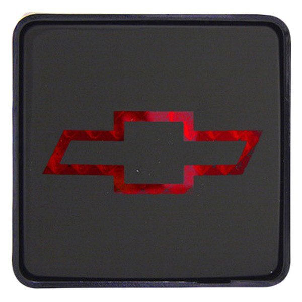 Bully® - Square Hitch Cover with Brake Light with Chevy Logo