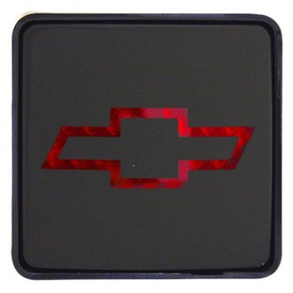 "Bully® - Square Hitch Cover with Brake Light with Chevy Logo for 2"" Receivers"