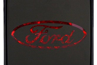 Bully® - Square Hitch Cover with Brake Light with Ford Logo