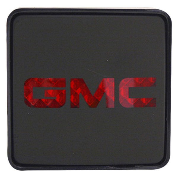 Bully® - Square Hitch Cover with Brake Light with GMC Logo