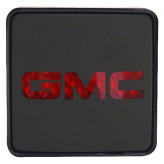 "Bully® - Square Hitch Cover with Brake Light with GMC Logo for 2"" Receivers"