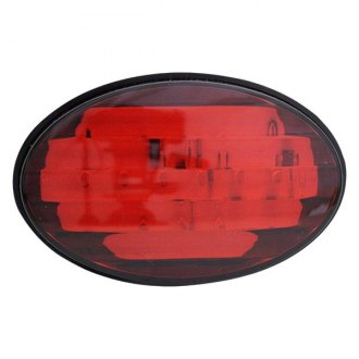 Bully® - Oval LED Hitch Cover with Brake Light