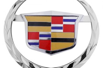 Bully® - Chrome Hitch Cover with Cadillac Escalade Logo