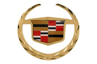 Bully® - Gold Hitch Cover with Cadillac Escalade Logo