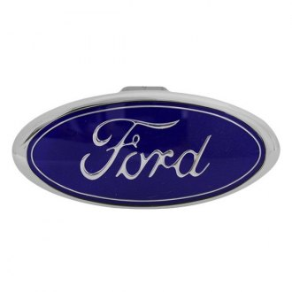 "Bully® - Chrome Hitch Cover with Ford Logo for 1-1/4"" and 2"" Receivers"
