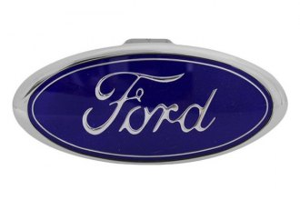 Bully® - Chrome Hitch Cover with Ford Logo