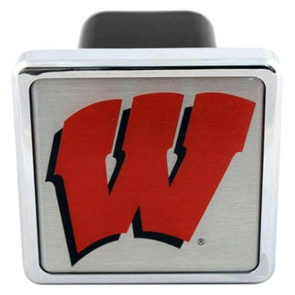 Bully® - Hitch Cover with Wisconsin College Logo
