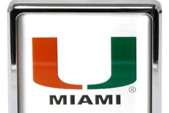 Bully® - Hitch Cover with University of Miami College Logo