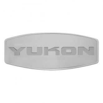 Bully® - Custom Dual Layer Stainless Steel Hitch Cover with Yukon Logo