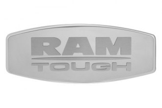 Bully® - Custom Dual Layer Stainless Steel Hitch Cover with Ram Logo