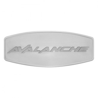 Bully® - Custom Dual Layer Stainless Steel Hitch Cover with Avalanche Logo