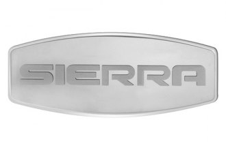 Bully® - Custom Dual Layer Stainless Steel Hitch Cover with Sierra Logo