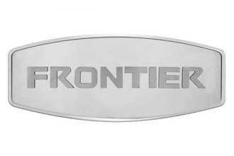 Bully® - Custom Dual Layer Stainless Steel Hitch Cover with Frontier Logo