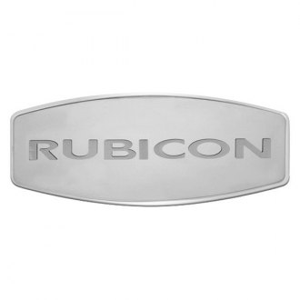 Bully® - Custom Dual Layer Stainless Steel Hitch Cover with Rubicon Logo