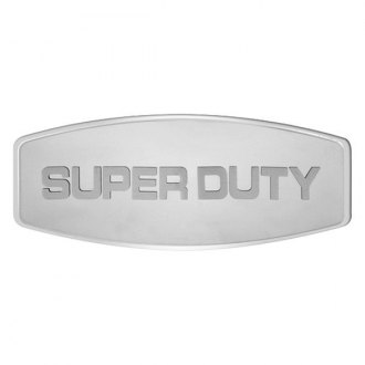 Bully® - Custom Dual Layer Stainless Steel Hitch Cover with Super Duty Logo