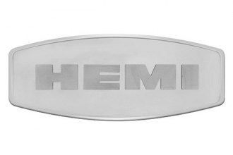 Bully® - Custom Dual Layer Stainless Steel Hitch Cover with Hemi Logo
