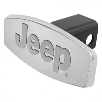 Bully® - Custom Dual Layer Stainless Steel Hitch Cover with Jeep Logo