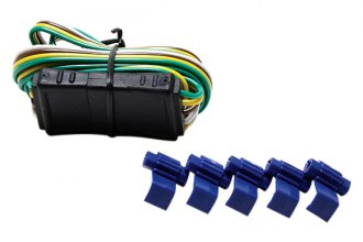 "Bully® - 4 Flat with 60"" Wire Both Ends Trailer Wiring"