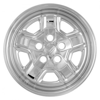"Bully® - 16"" 5-Indented-Spoke Imposter Wheel Skins"