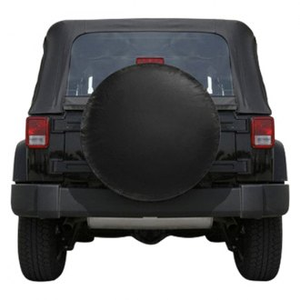 Bully® - Black Spare Tire Cover