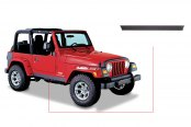 Bushwacker® - Trail Armor™ Diamondback Textured Flat Rocker Panels