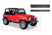 Bushwacker® - Trail Armor™ Diamondback Textured Front Accent Piece and Rear Tailgate Piece