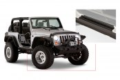 Bushwacker® - Trail Armor™ Textured Door Sill Plate and Rocker Panel Combo