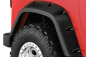 Bushwacker® 10030-07 - Pocket Style Rear Set Fender Flares