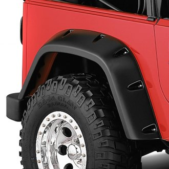 Bushwacker® - Pocket Style Fender Flares (Rear Set )