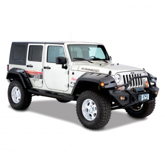 Bushwacker® - Max Coverage Pocket Style Fender Flares