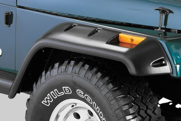 Bushwacker® - Cut-Out™ Front Fender Flares