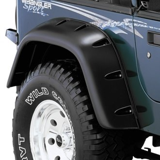 Bushwacker® - Cut-Out™ Rear Fender Flares