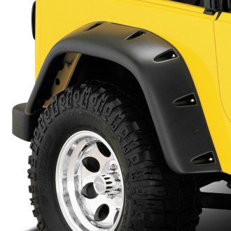 Bushwacker® - Pocket Style Front and Rear Set Fender Flares