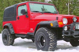 Bushwacker® - Pocket Style Fender Flares (Front and Rear Set )