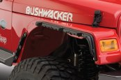 Bushwacker® - Flat Style Front and Rear Fender Flares