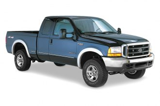 Bushwacker® 20504-02 - Front and Rear Street Style Fender Flares