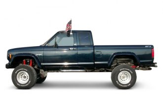 Bushwacker® 21008-11 - Rear Cut-Out™ Fender Flares