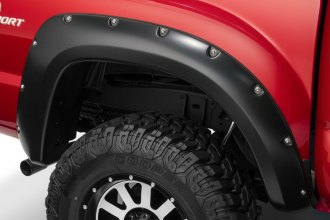 Bushwacker® 31080-02 - Pocket Style Rear Set Fender Flares