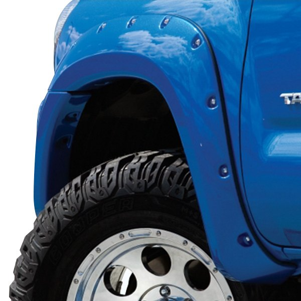Bushwacker® - Pocket Style Fender Flares (Front and Rear Set)