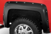 Bushwacker® - Pocket Style Fender Flares (Rear Set)