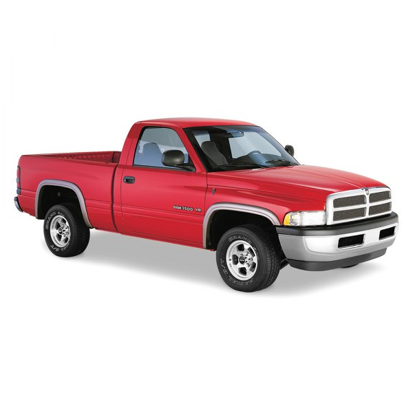 dodge ram fleetside 1994 street style front and rear fender flares. Cars Review. Best American Auto & Cars Review