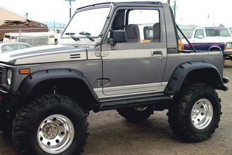 Bushwacker® - Front and Rear Pocket Style™ Fender Flares
