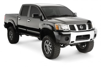 Bushwacker® 70907-02 - Pocket Style Front and Rear Set Fender Flares